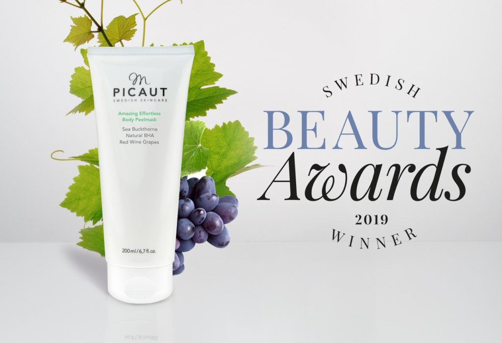 M Picaut vinner Swedish Beauty Awards 2019